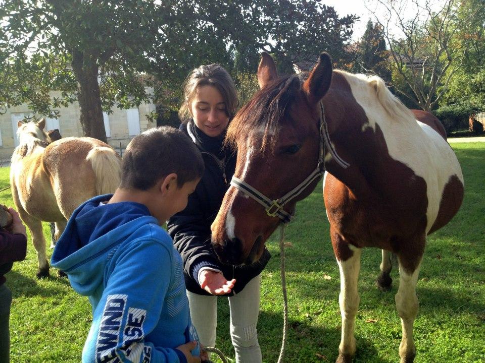 Sandie + cheval