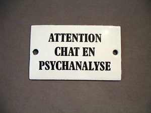 chat en psychanalyse!